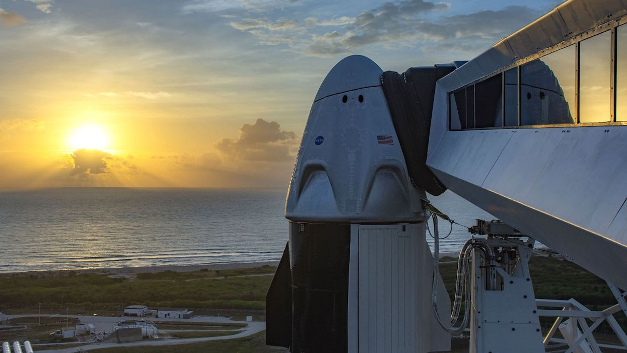 Historic NASA/SpaceX Mission Could Pave the Way for Space Tourism by 2021