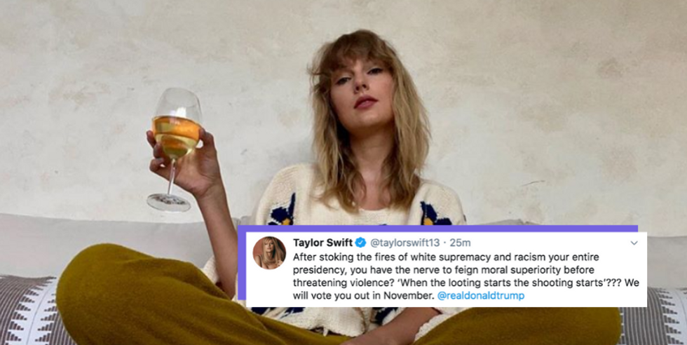 Taylor Swift Fearlessly Called Out Trump And White Supremacy, And I Am HERE For It