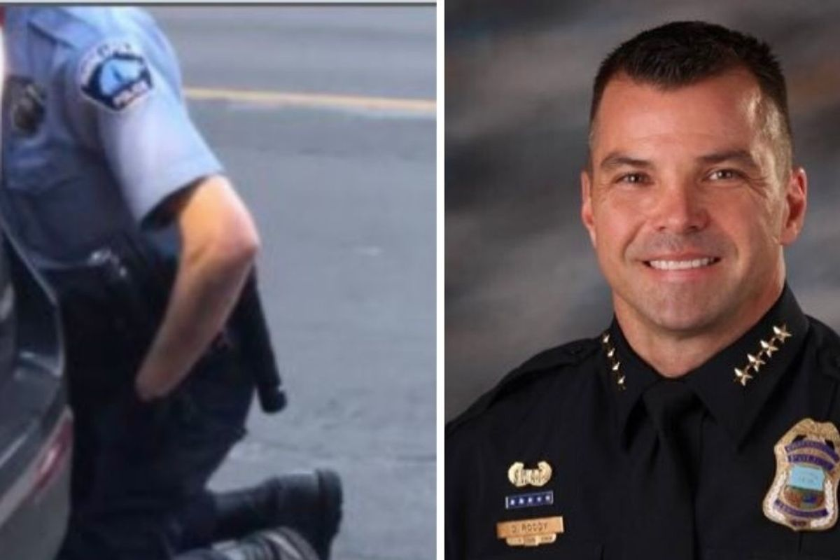 Tennessee police chief told officers who defended George Floyd's murder to turn in badges