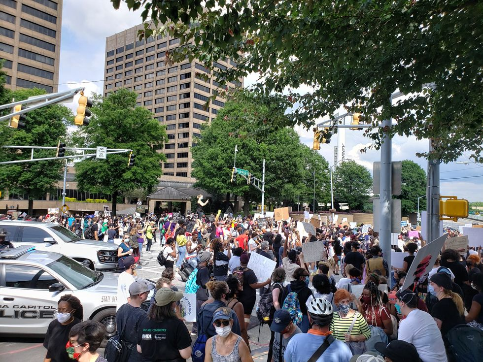 I Was At The Atlanta George Floyd Protests, Here's What It Was Like Before The Violence Started