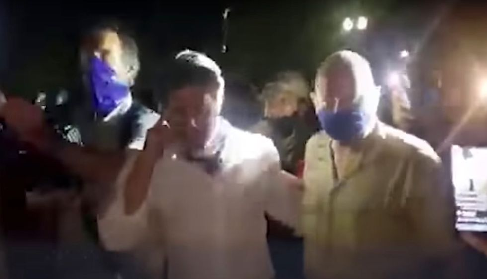 Harrowing video shows moment protesters attack Fox News reporter — police allegedly refused to help