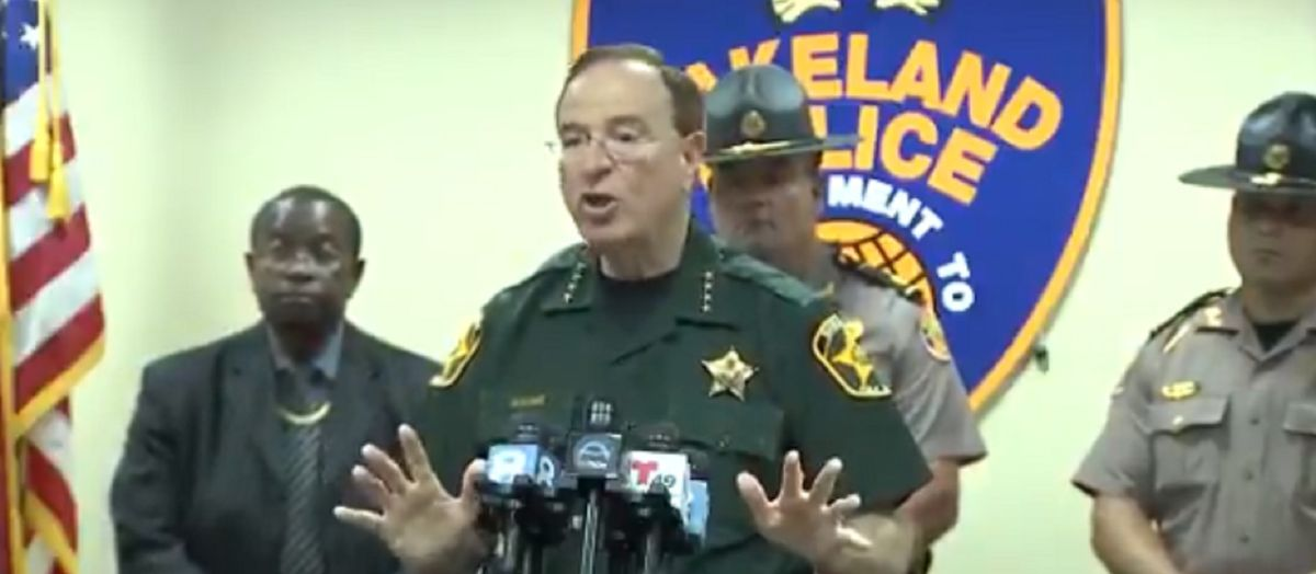 Florida sheriff warns criminals that residents will 'be in their homes tonight with their guns loaded'