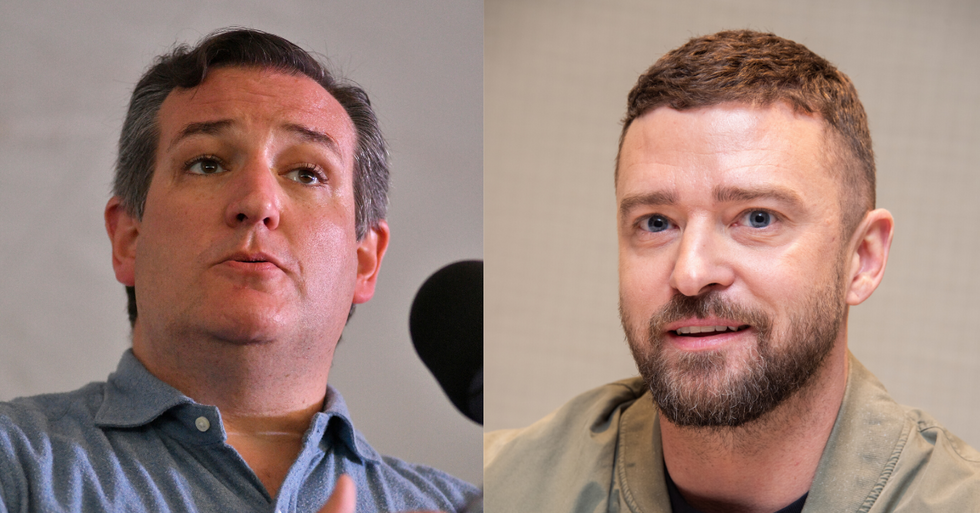 Ted Cruz Tried To Slam Justin Timberlake For Posting A Link to Support Protesters On Twitter, And It Did Not Go Well