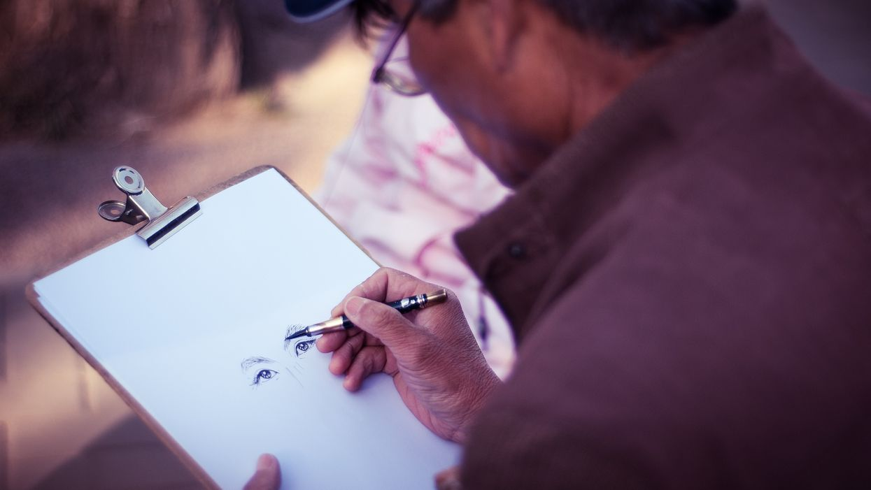 How drawing can help alleviate the stigma of mental illness.