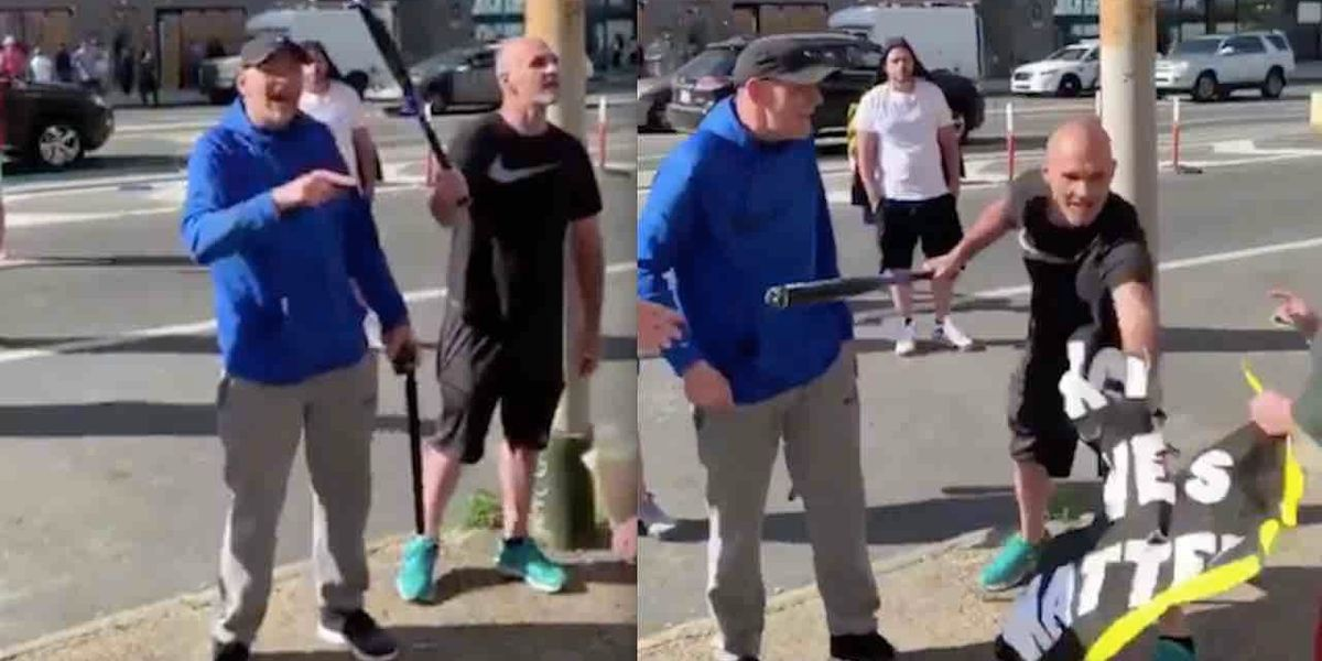 Men with bats, hammers, shovels walk in Philly neighborhood to protect it. Leftists call them racists as scene gets ugly.