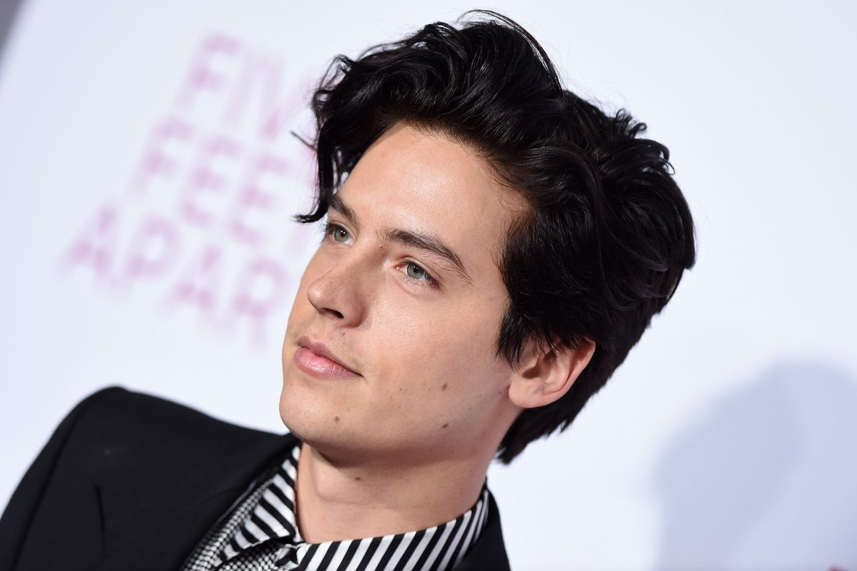 Cole Sprouse Arrested at Santa Monica Protest