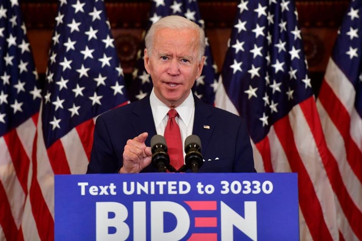 In his first public speech since quarantine, Biden called out Trump's assault on peaceful protests