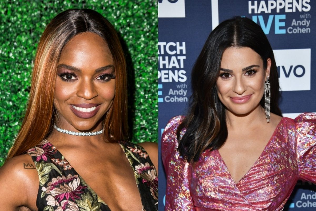 Black Actors Speak out About Working With Lea Michele