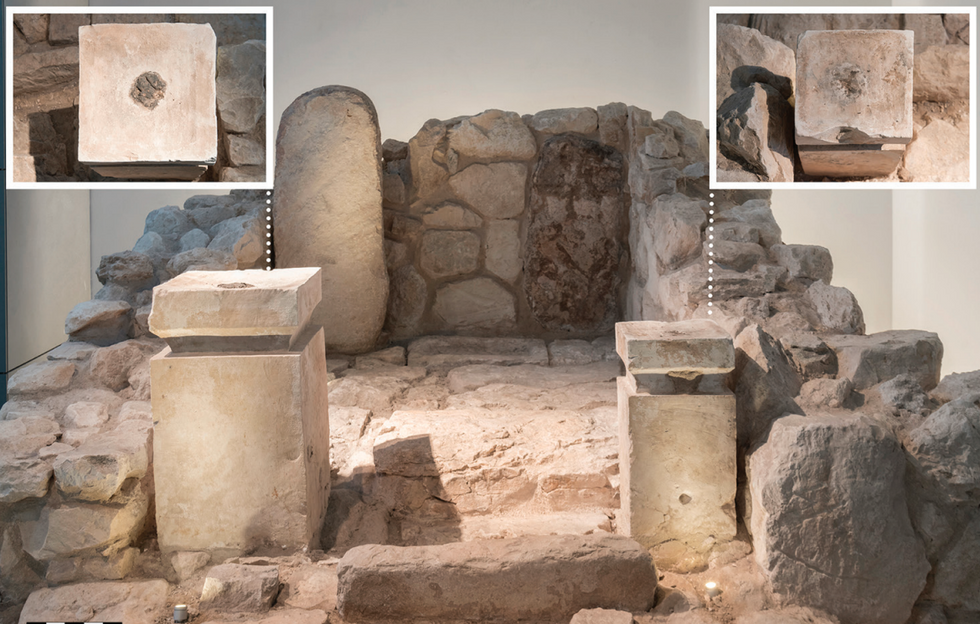 Cannabis discovered at an ancient biblical shrine in Israel