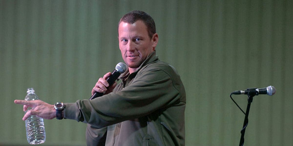 Lance Armstrong's sad legacy hits new low