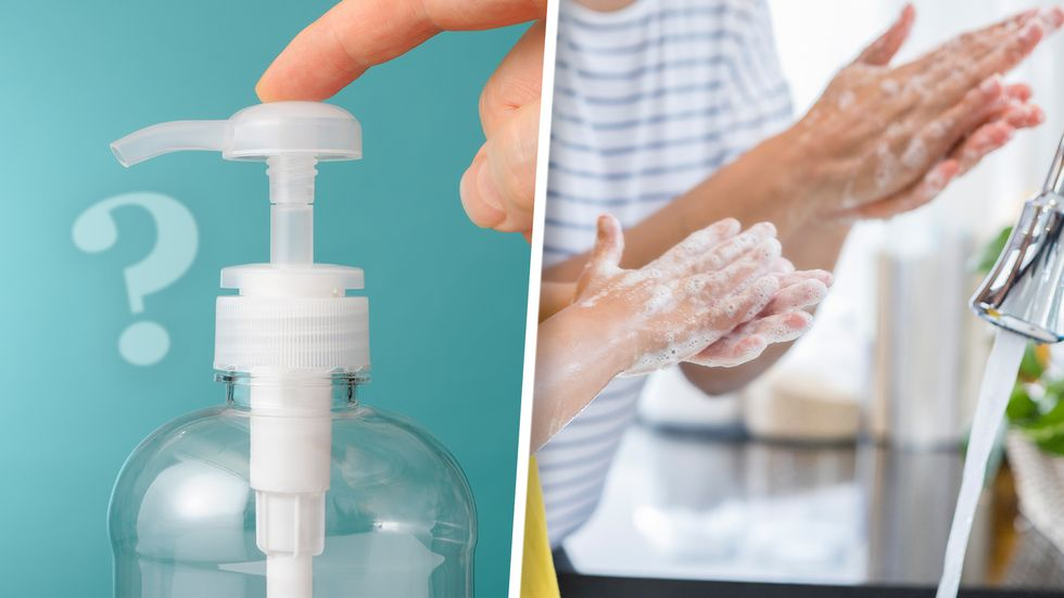Difference Between Hand Washing and Hand Sanitizing