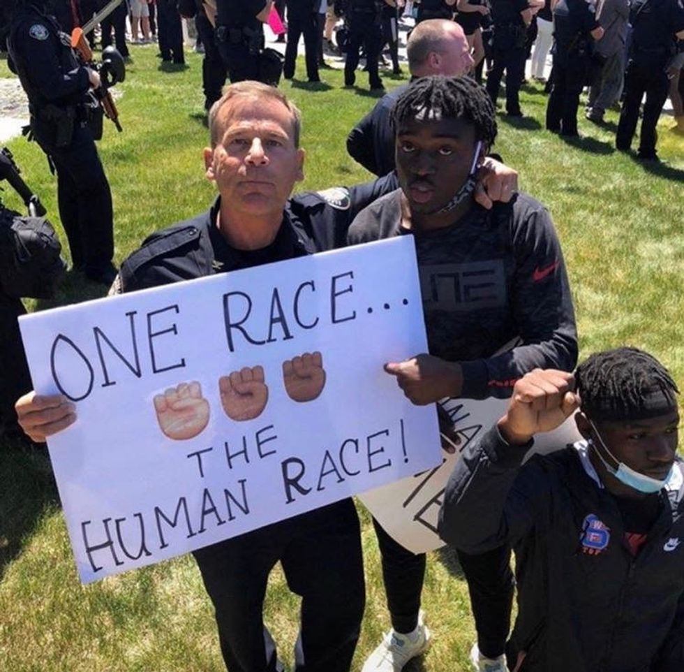10 Beautiful Moments From The Black Lives Matter Protests That The Media Won't Show You