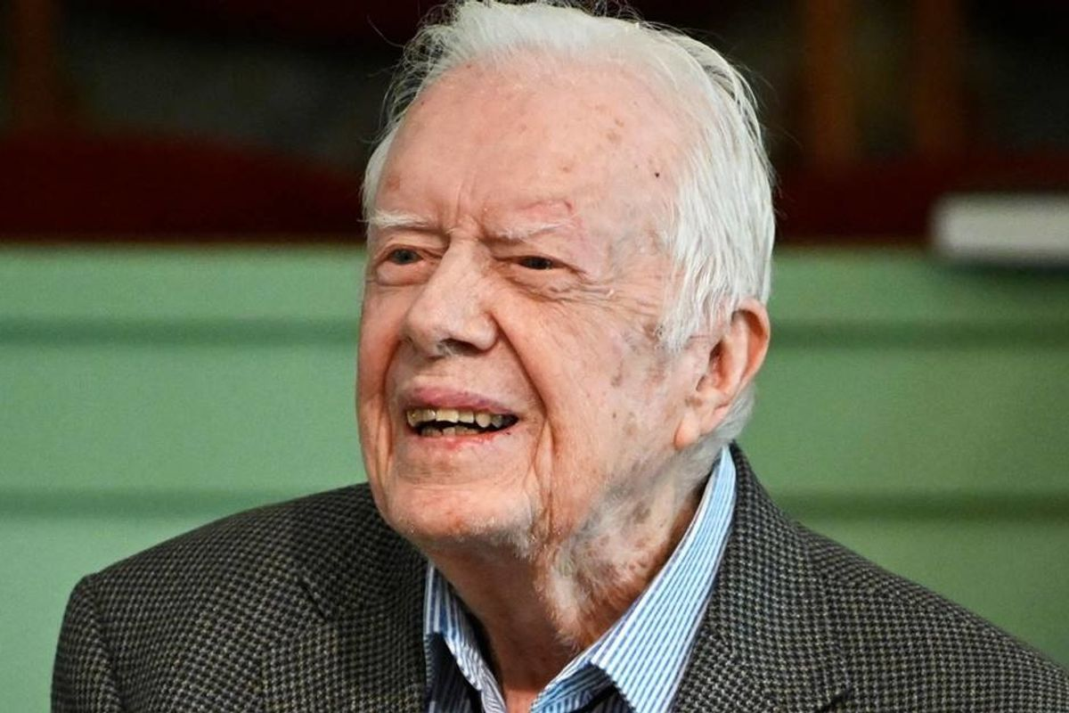 'Silence can be as deadly as violence.' Jimmy Carter urges white people to fight racism