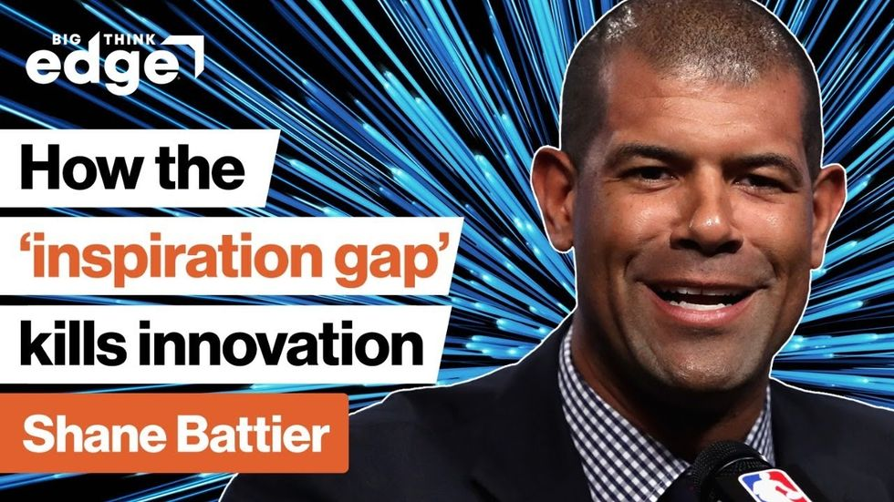 LIVE NOW: The  inspiration gap  kills innovation. How can we do better?