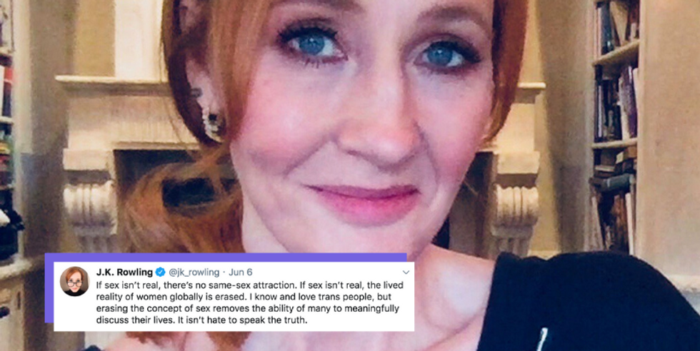 J.K. Rowling Went Out Of Her Way To Tweet Anti-Trans Takes During Pride Month, And WTF