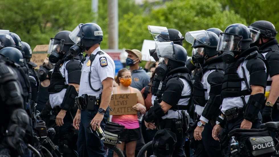 The Columbus Police DON'T Stand With Protesters — Even When They March And Kneel With Them