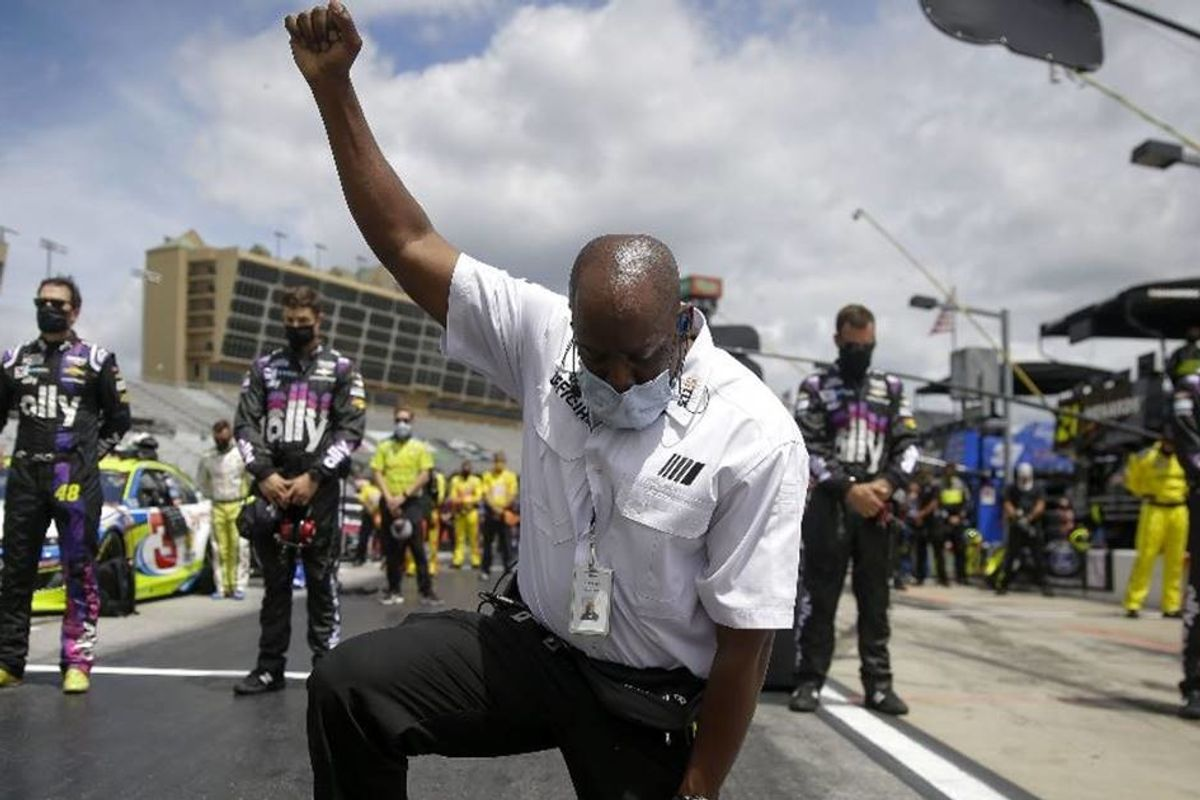 NASCAR's powerful support for racial justice shows that America may finally be getting the point