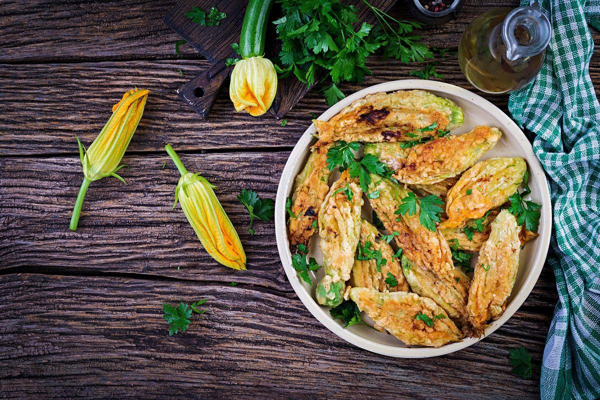 Cuciniamo insieme: il fritto di fiori alla romana