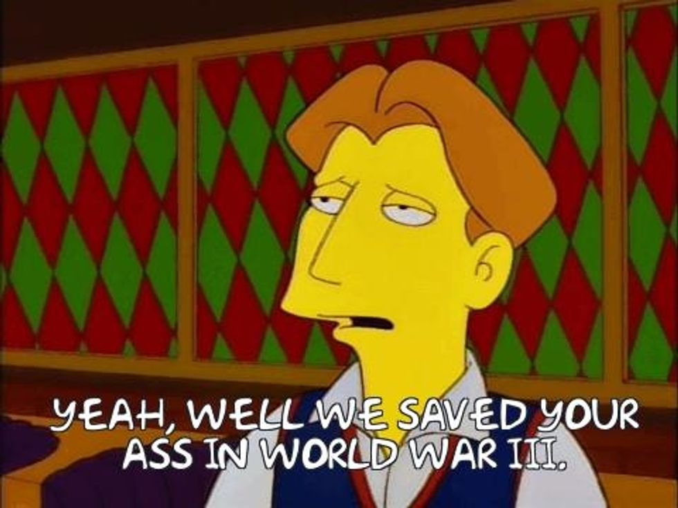 The Simpsons Might Have Already Predicted The Events Of 2020 Americas Military Entertainment Brand