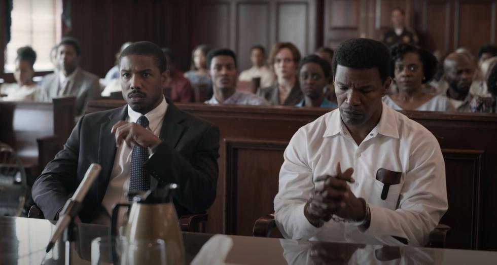 'Just Mercy' trailer in court