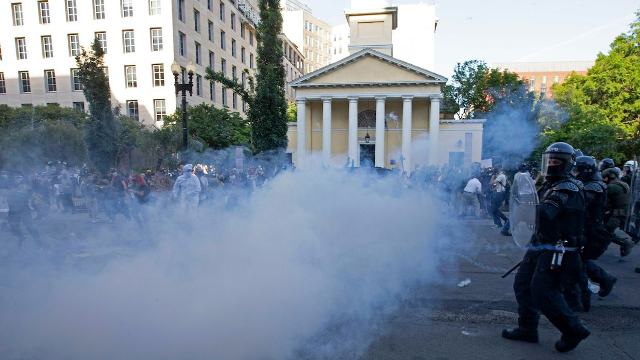 The Dangers of Using Tear Gas During a Viral Pandemic
