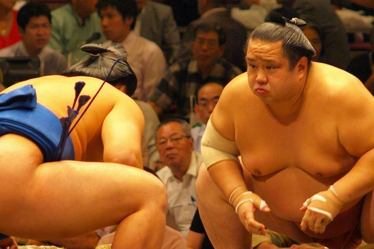 Woman who attempted suicide in Japan had her life saved by 20 heroic sumo wrestlers