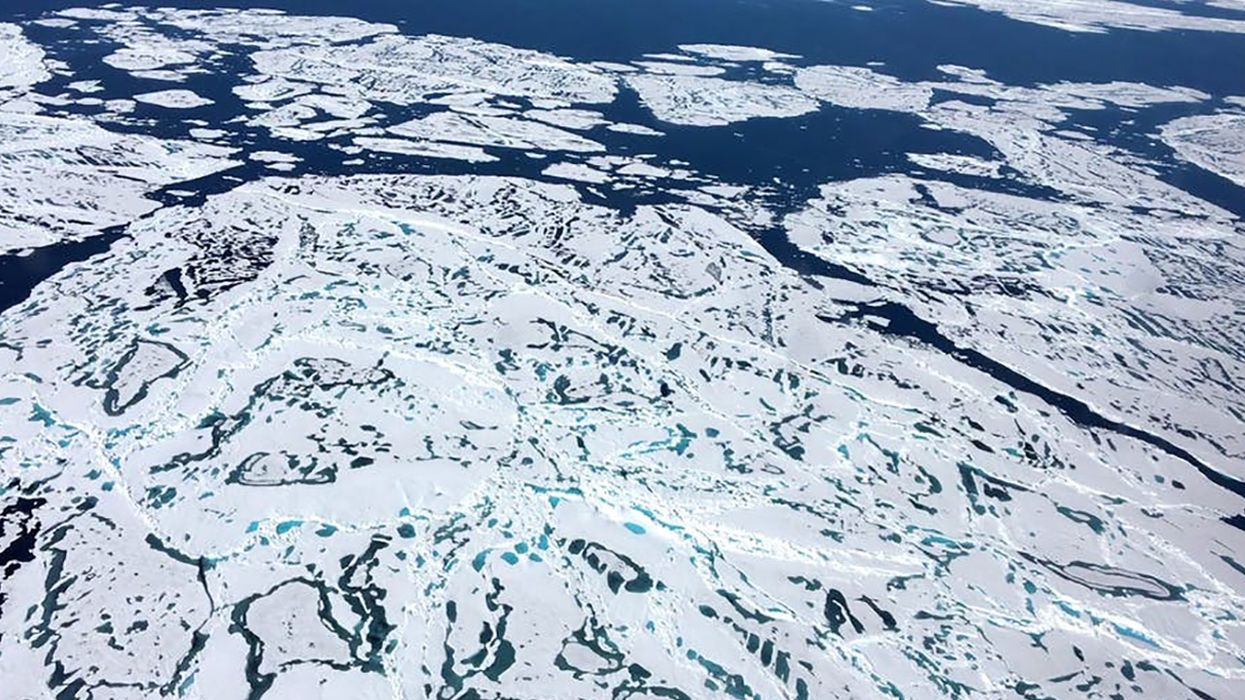 How Simple Math Can Help Predict the Melting of Sea Ice