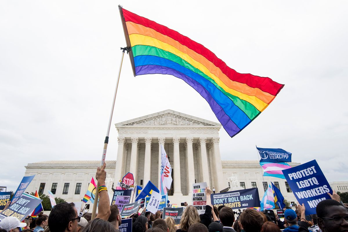 Supreme Court Rules LGBTQ+ People Protected From Job Discrimination