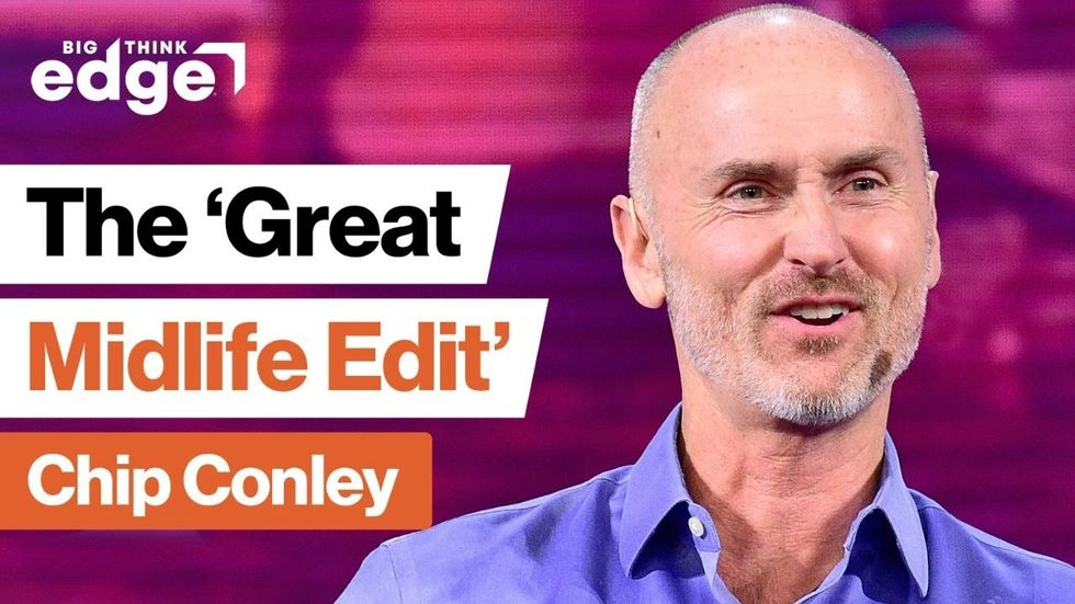 LIVE TOMORROW | Do the  Great Midlife Edit  with Airbnb alum Chip Conley