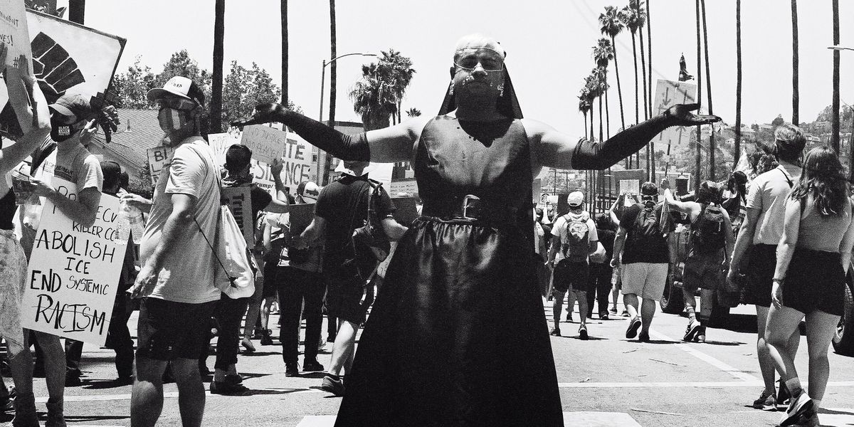 Photos From LA's All Black Lives Matter Protest
