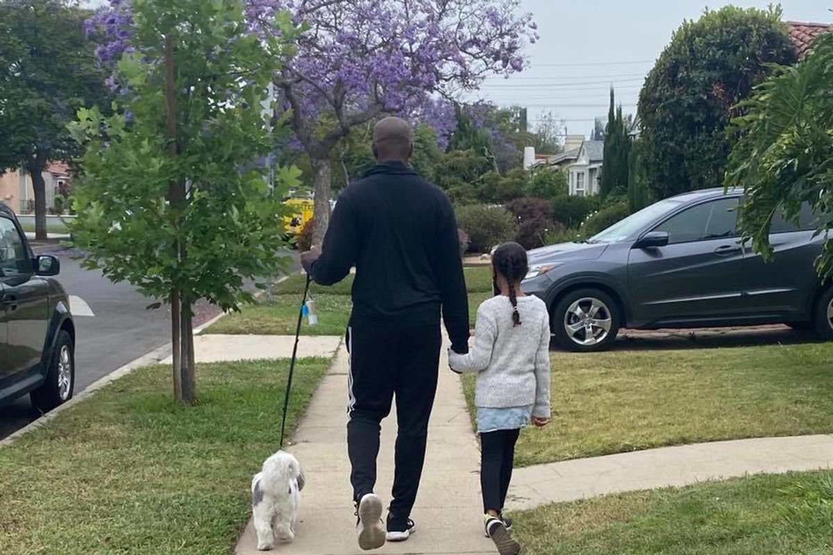 As a Black man, I would be scared to death to take walks without my girls and my dog