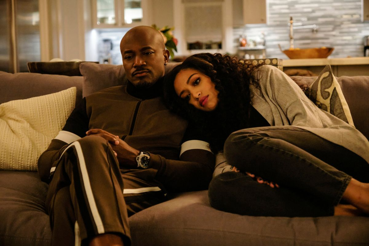 Taye Diggs as Billy and Samantha Logan in TV show from The CW All American