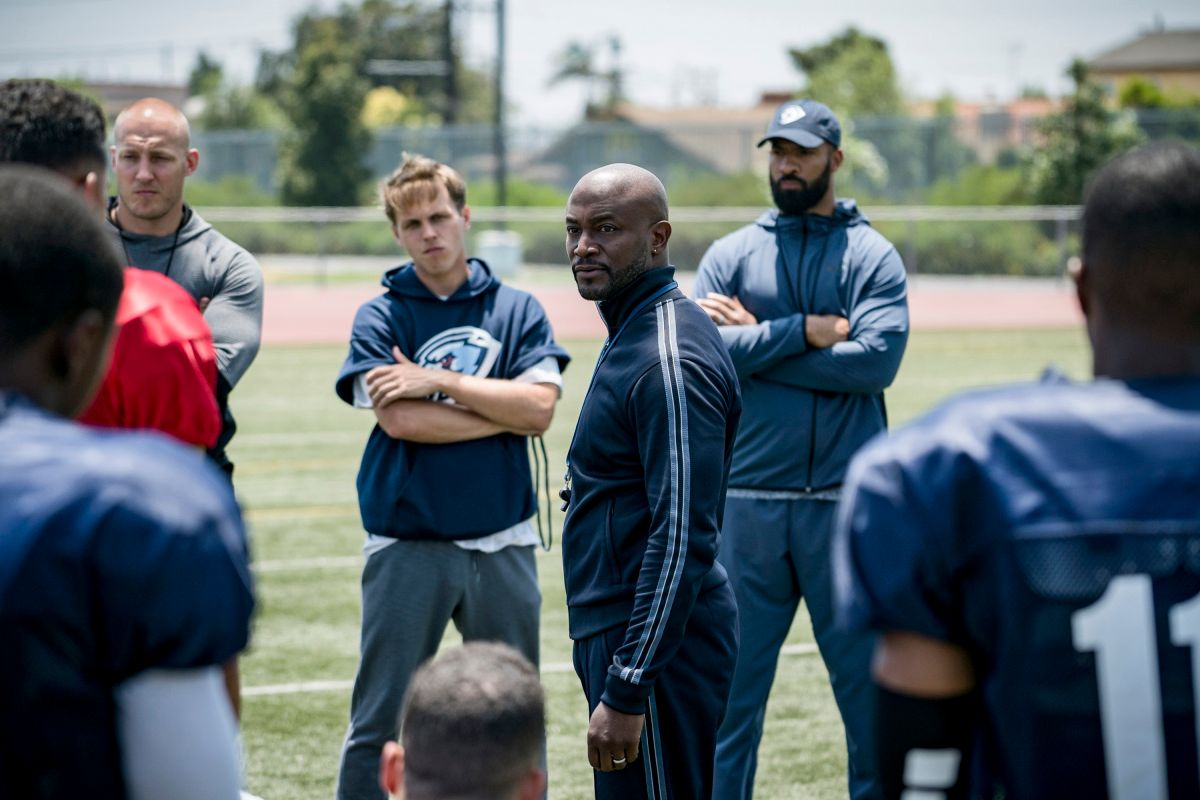Taye Diggs as coach Billy Baker in the TV show from The CW All American