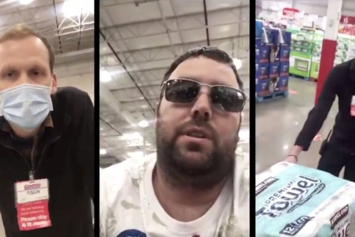 Costco employee is our new hero after handling irate customer who refused to wear a mask