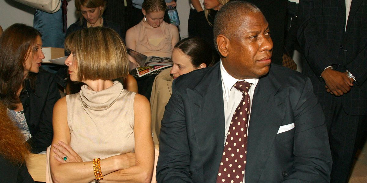 André Leon Talley Is Not Looking for Closure