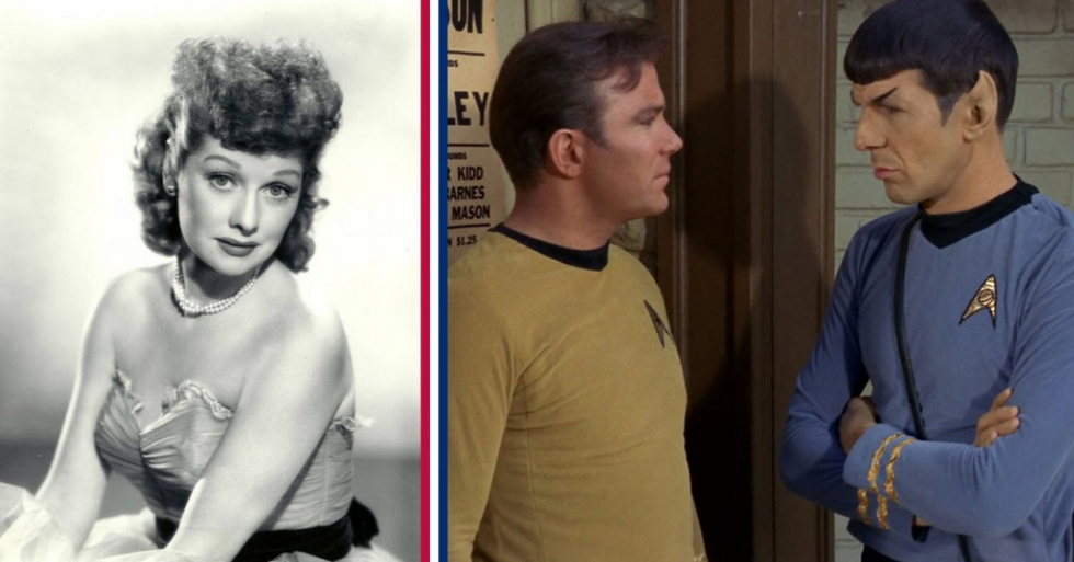 The true story of how Lucille Ball saved 'Star Trek'