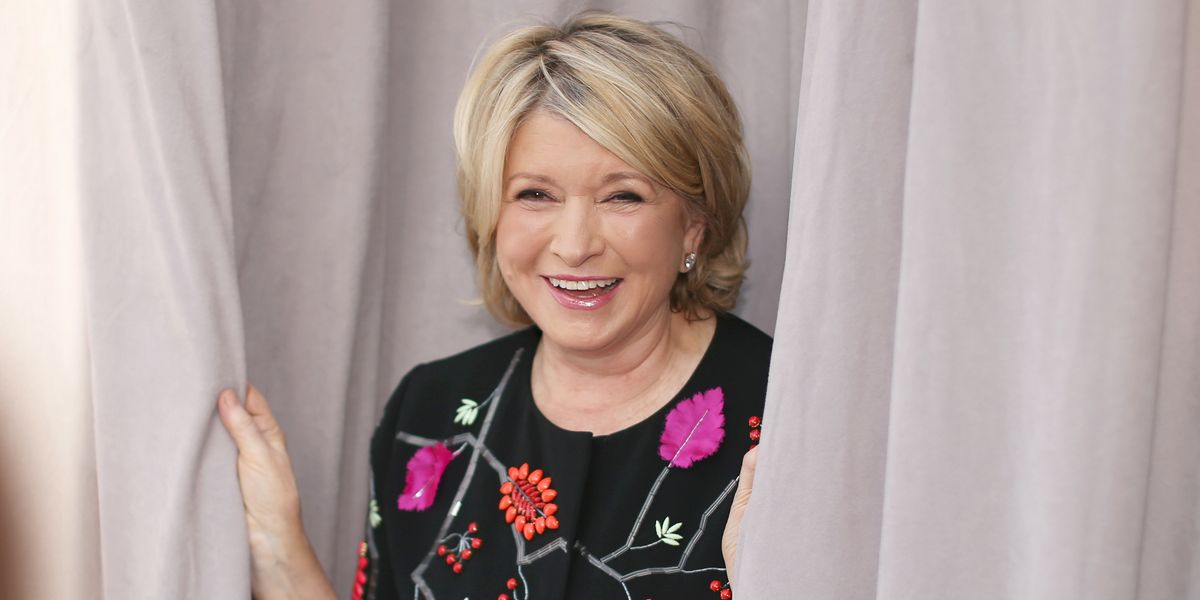 Everyone's Obsessed With Martha Stewart's 'Horny' Caption