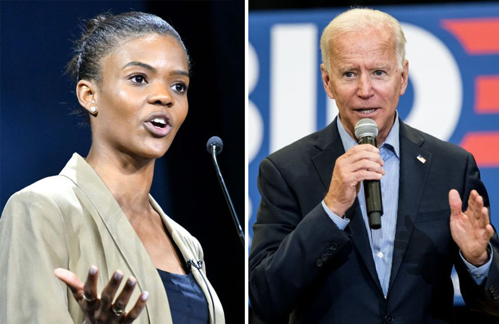 Candace Owens destroys Biden for racist comments, calls out Dem Party for its treatment of African Americans