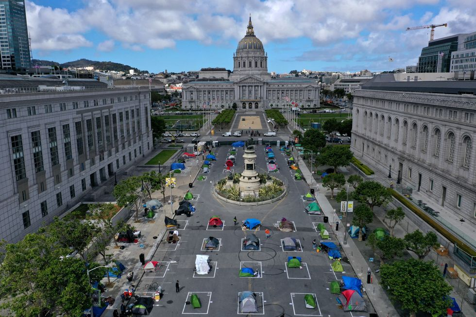 San Francisco sanctions tent city, residents say 'unsafe' homeless epidemic makes them feel like prisoners in their own city