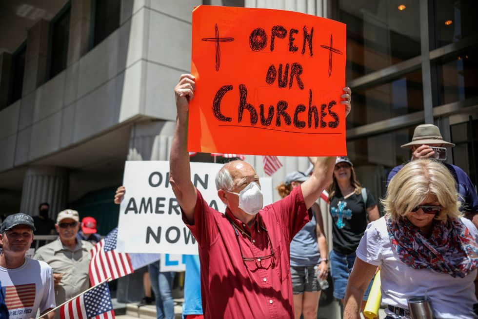 Federal appeals court upholds Gov. Gavin Newsom's ban on in-person church services in California