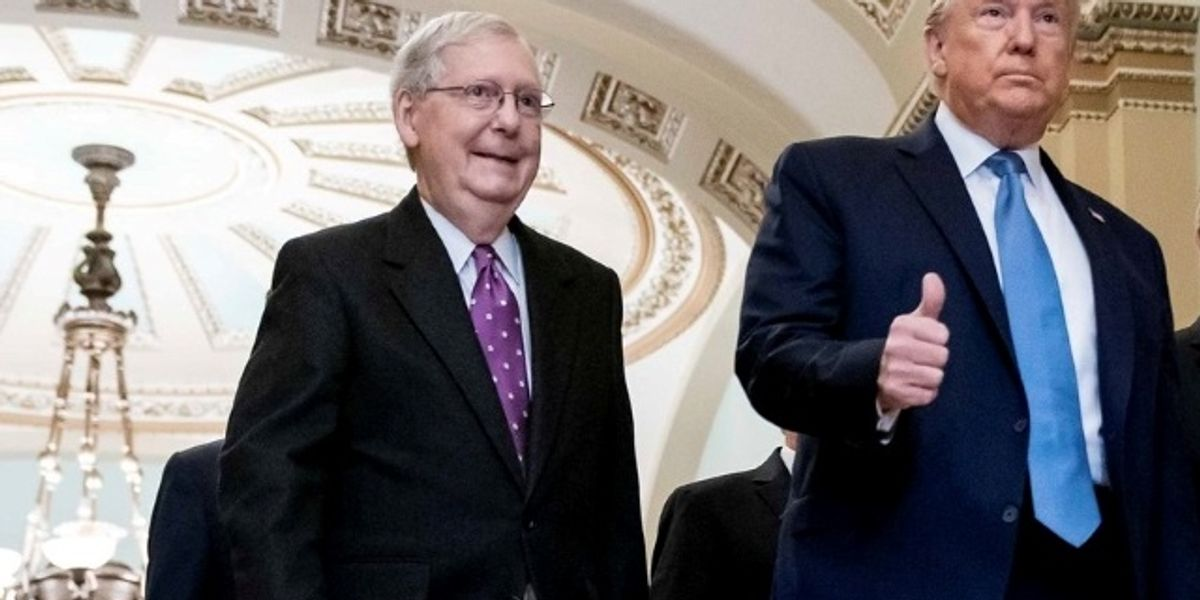 McConnell: Senate Probes Of Obama Are Just Payback For Trump