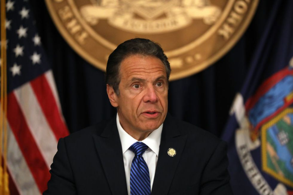Gov. Cuomo issued order forcing nursing homes to take COVID patients. He continues to blame Trump.