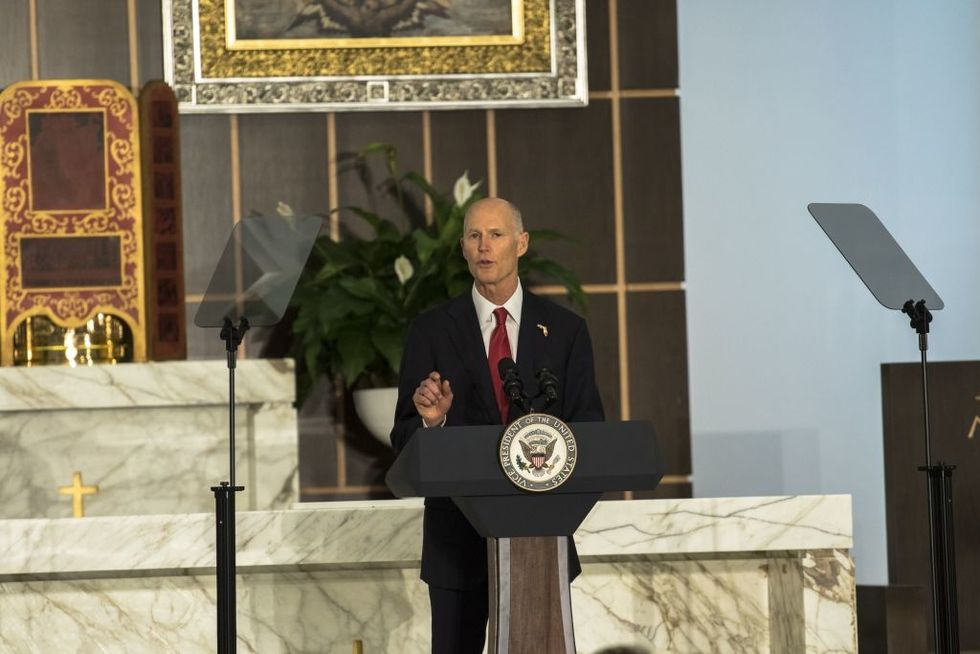 Sen. Rick Scott: Bill of Rights allows Americans to worship at church service, no matter what gov't leaders say