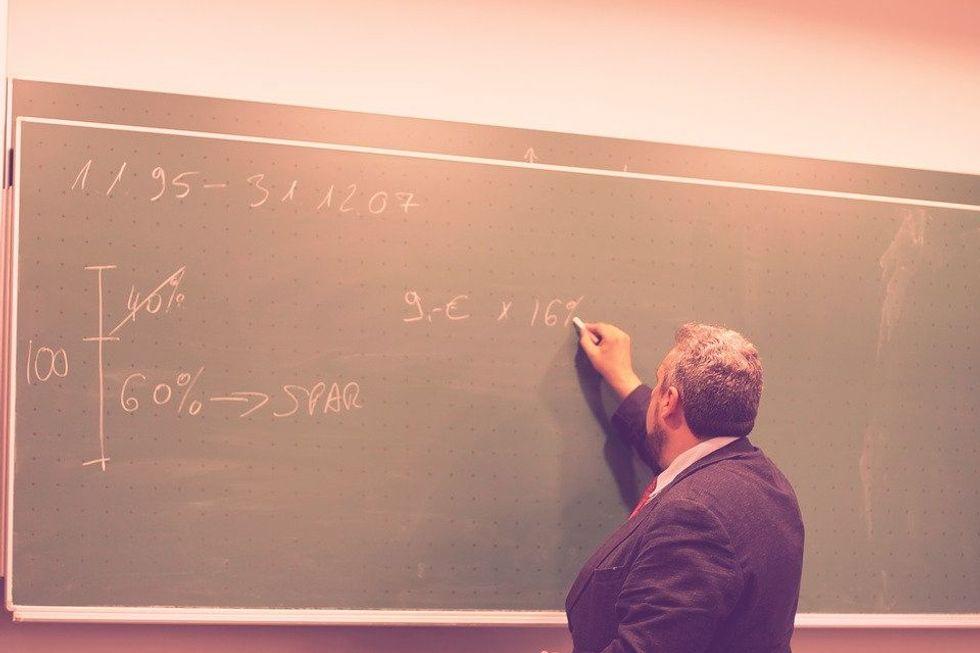 Exposing a Former Teacher