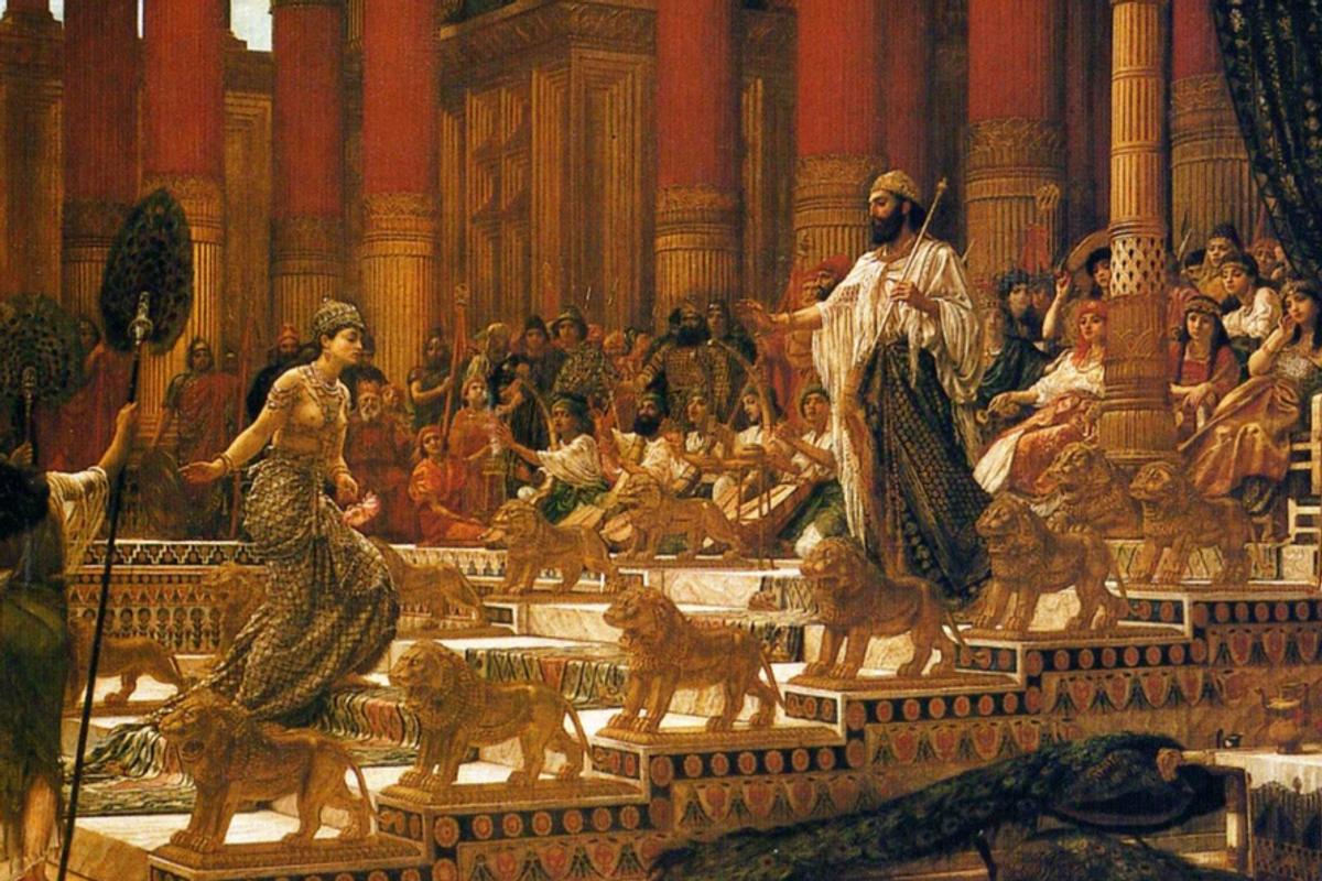 A lezione di seduzione dalla Regina di Saba