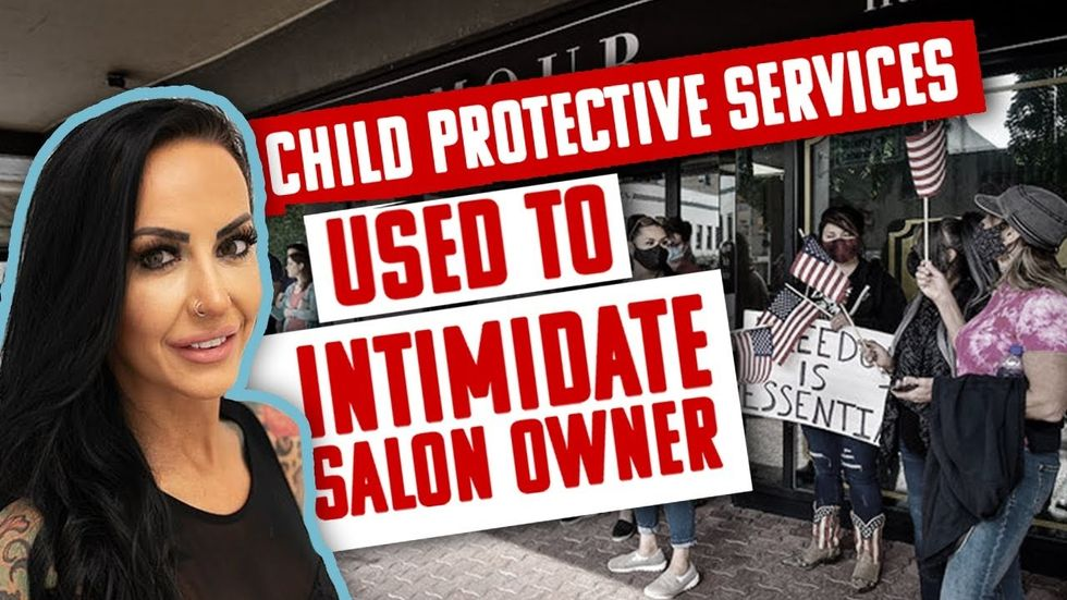 TOO FAR: Oregon government uses CPS to intimidate owner after salon reopens amid COVID-19 lockdown | Newsradio WTAM 1100 | Glenn Beck