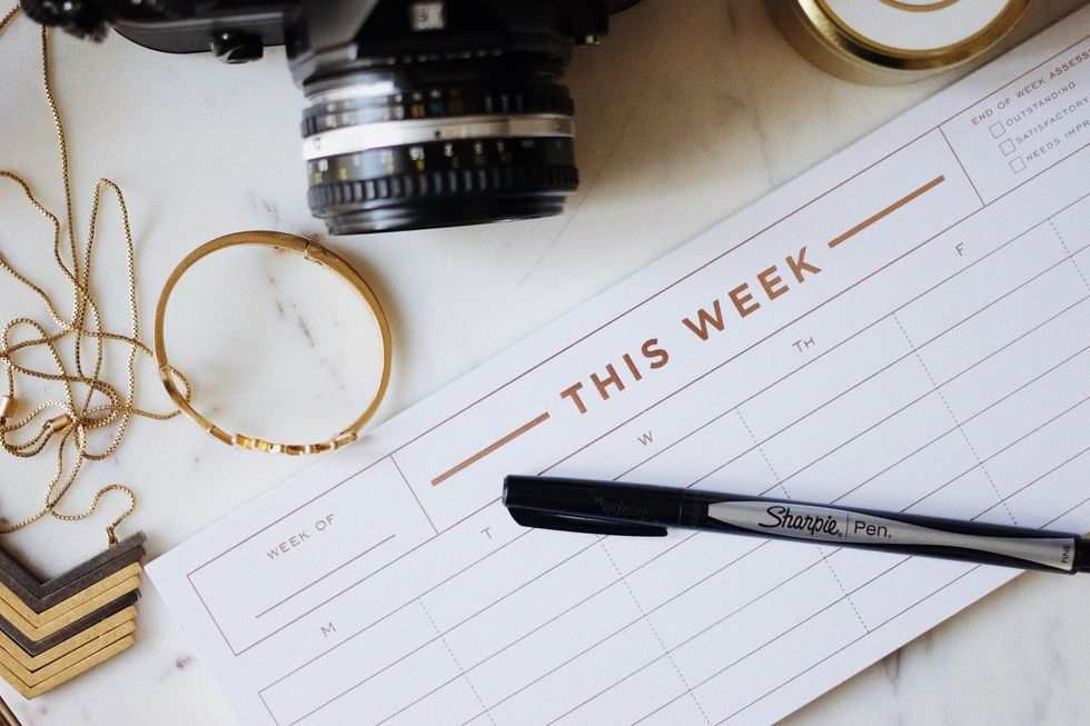 How To Create A Monthly Wellness Calendar
