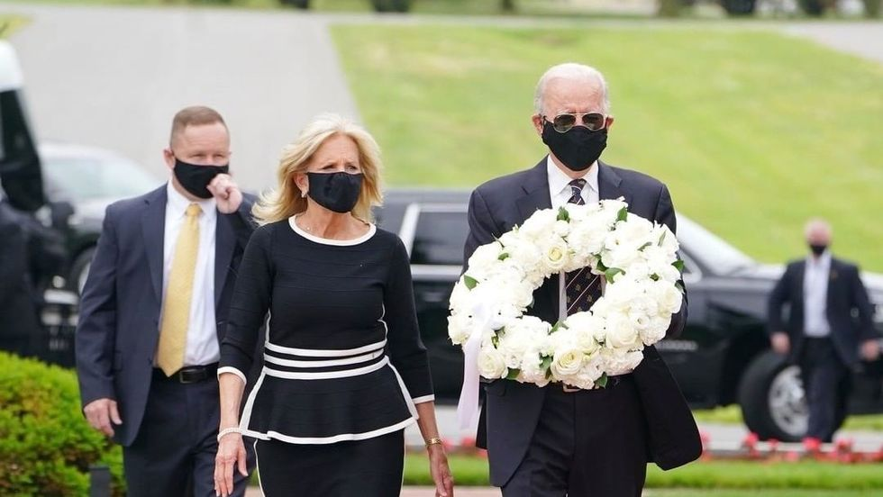 A Masked Joe Biden Did What Trump Still Hasn't — Look Presidential And Lead By Example