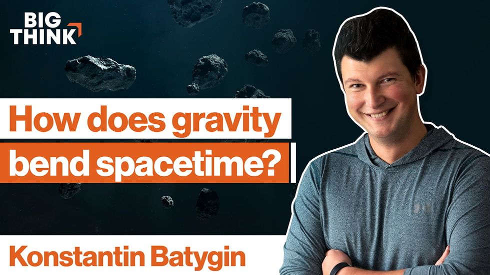 How does gravity bend spacetime?
