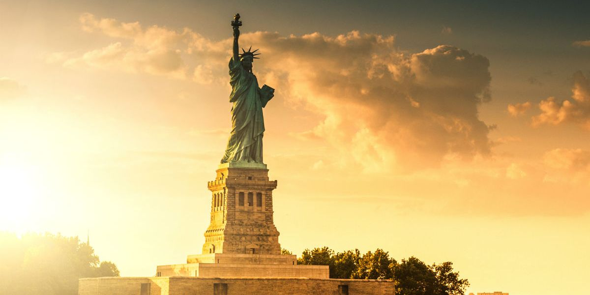 The Statue of Liberty poem means the exact opposite of what immigrant welfare advocates think